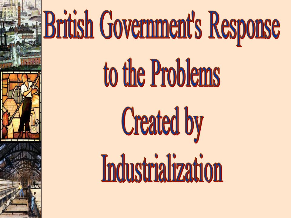 British Government s Response