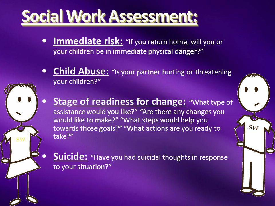 Social Work Assessment: