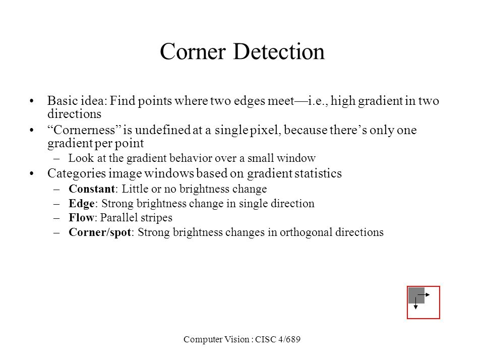 Computer Vision : CISC 4/689