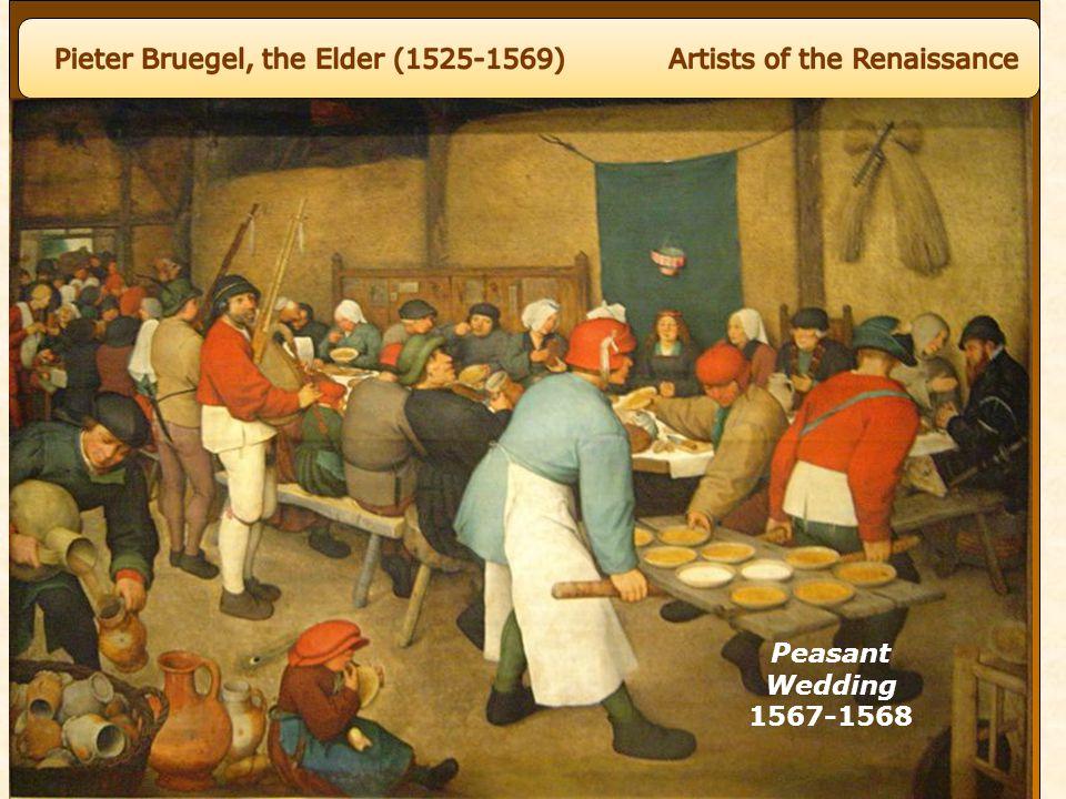 Peasant Wedding 1567-1568