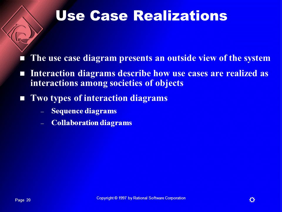 Copyright © 1997 by Rational Software Corporation