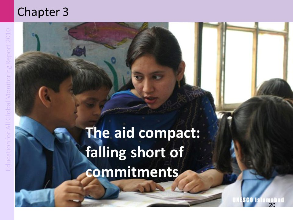 The aid compact: falling short of commitments