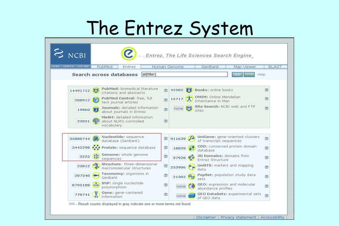 The Entrez System
