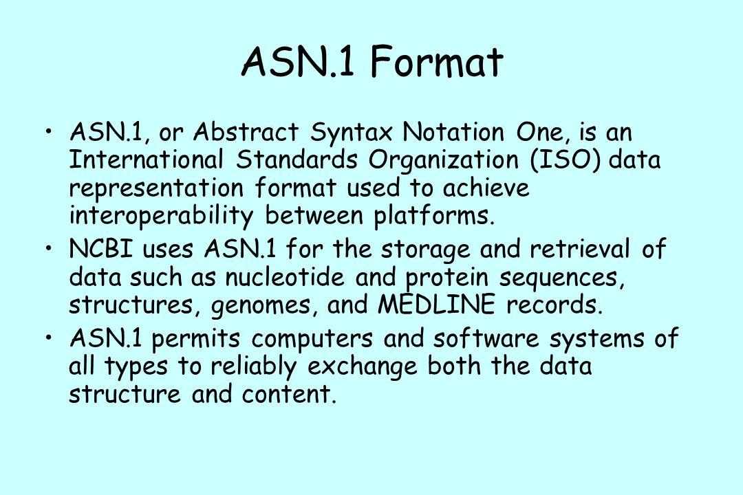 ASN.1 Format