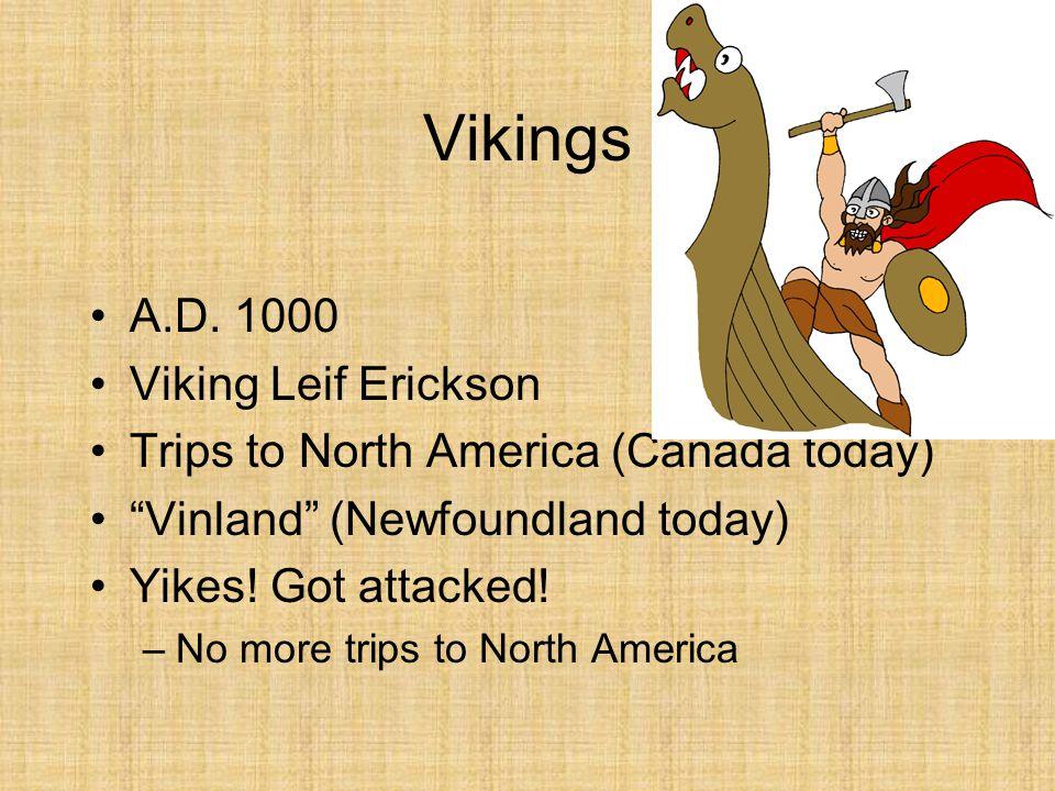 Vikings A.D. 1000 Viking Leif Erickson