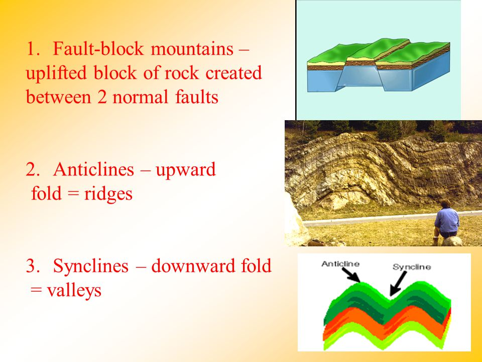 Fault-block mountains –