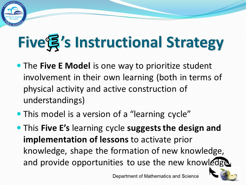 Five 's Instructional Strategy