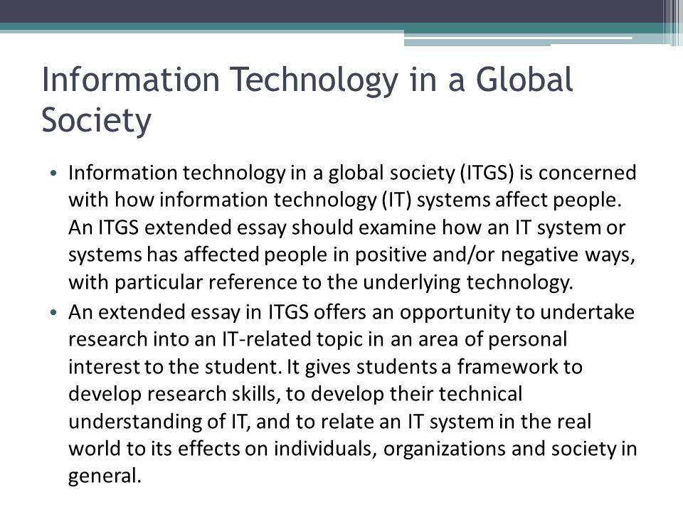 technology advance essay One of the nowadays controversies is technology advances we will write a custom essay sample on any topic advantages and disadvantages of technology.