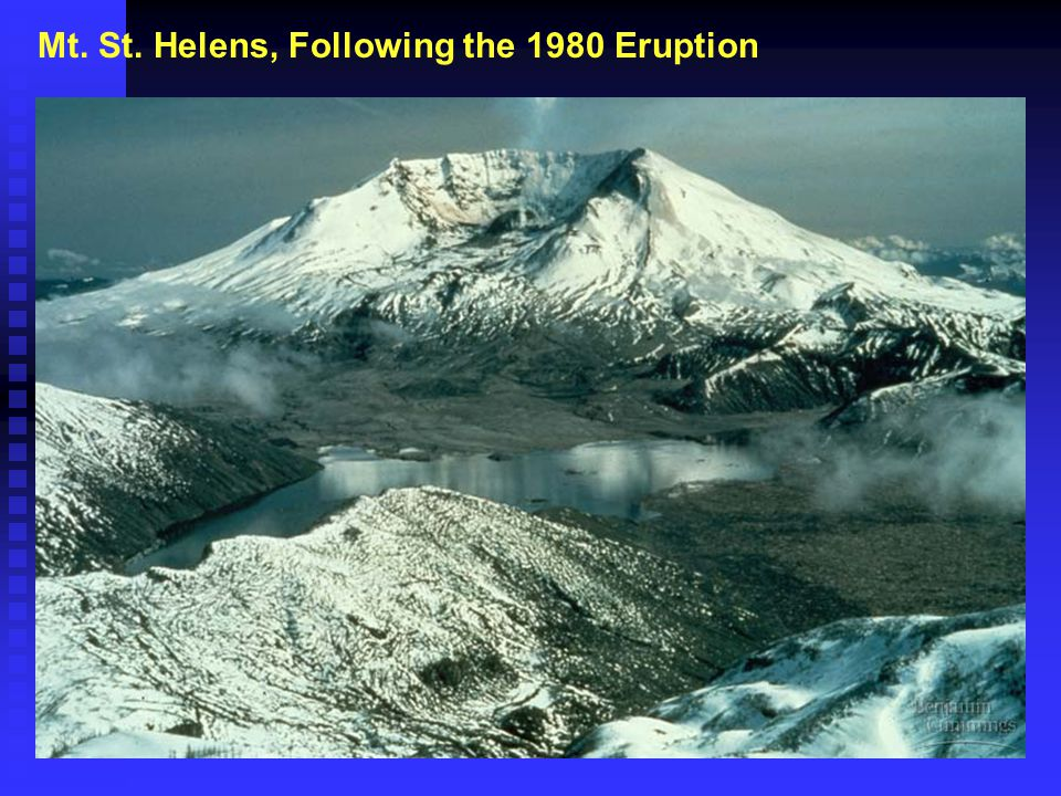 Mt. St. Helens, Following the 1980 Eruption