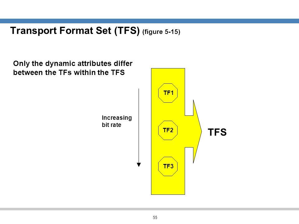 Transport Format Set (TFS) (figure 5-15)