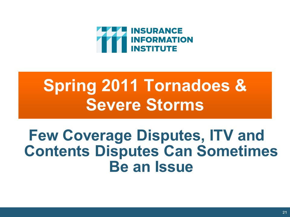 Spring 2011 Tornadoes & Severe Storms