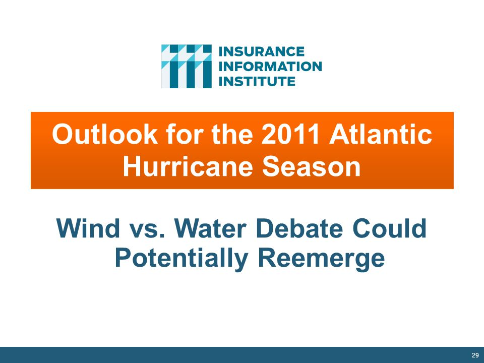 Outlook for the 2011 Atlantic Hurricane Season