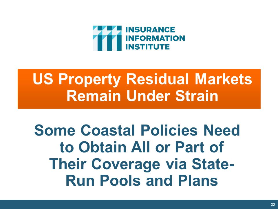 US Property Residual Markets Remain Under Strain
