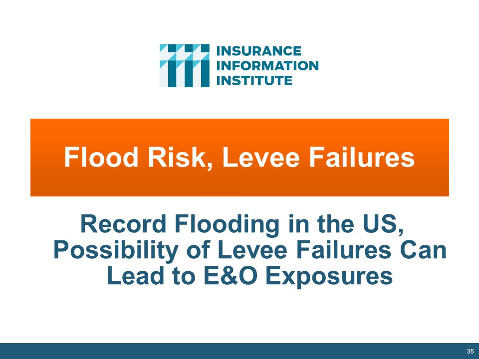 Flood Risk, Levee Failures