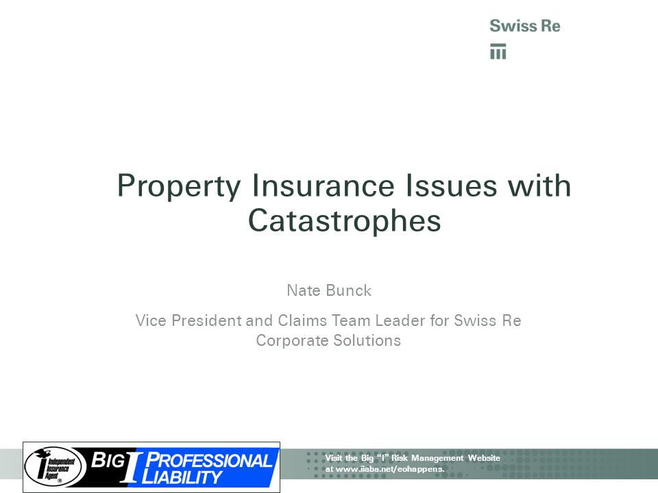 Property Insurance Issues with Catastrophes