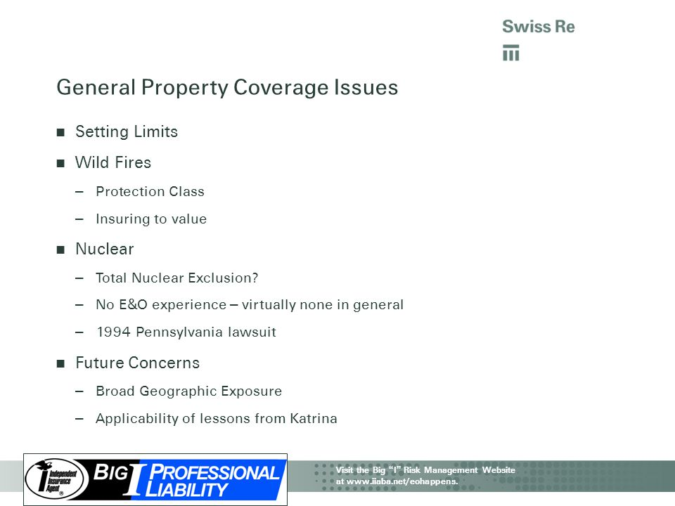 General Property Coverage Issues