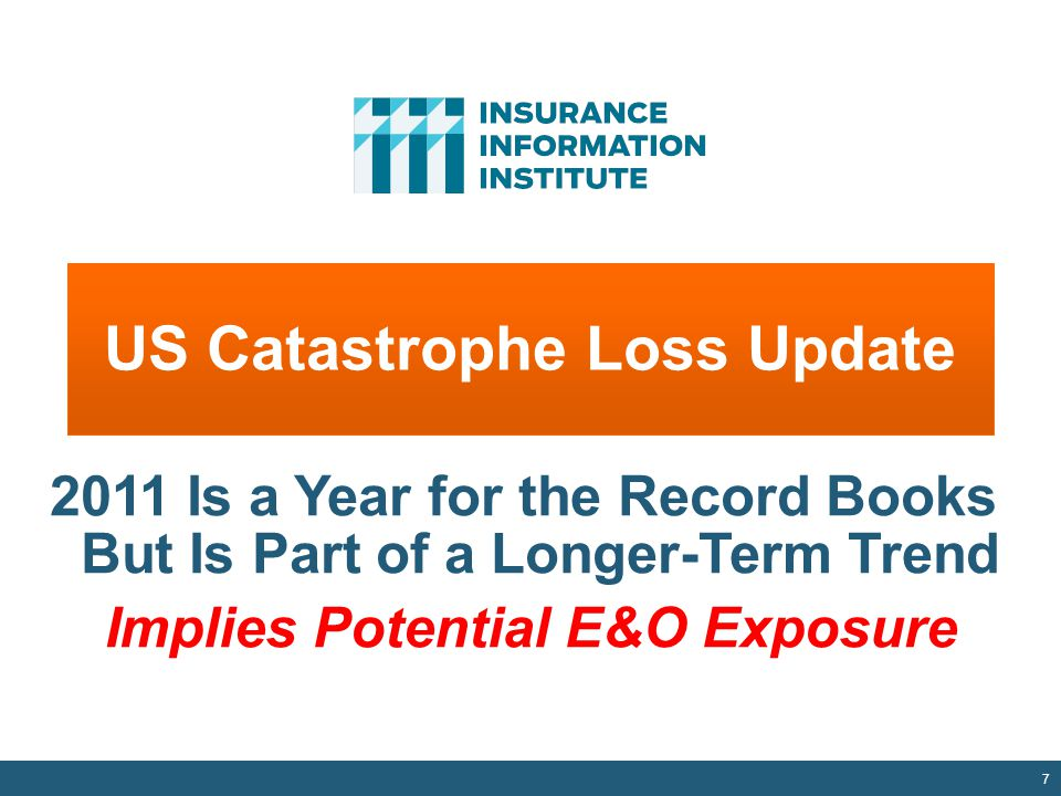 US Catastrophe Loss Update