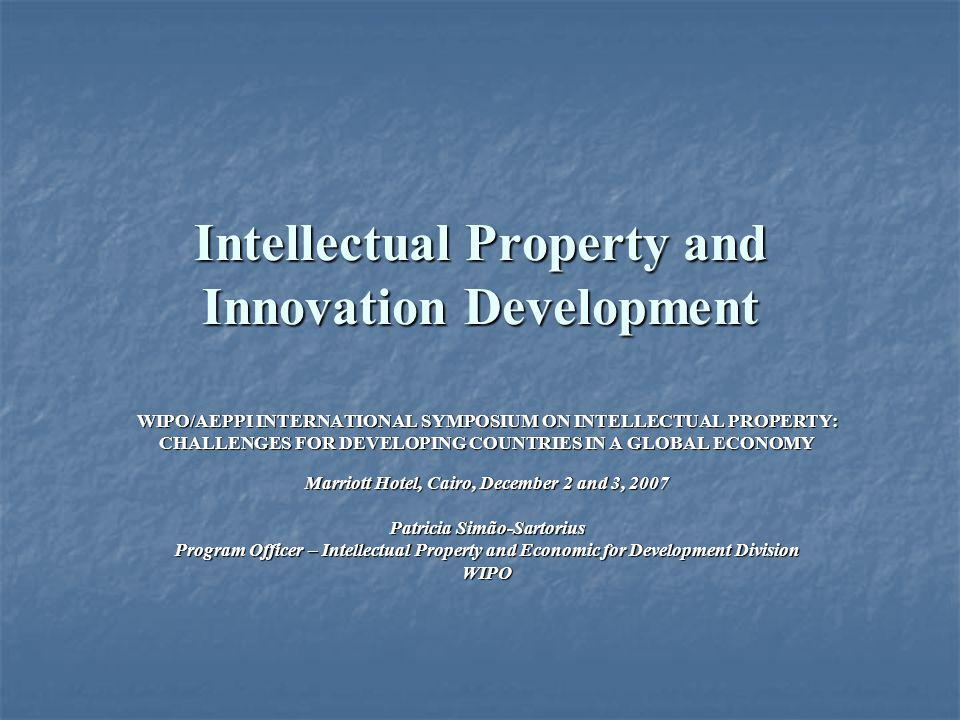 Intellectual Property and Innovation Development