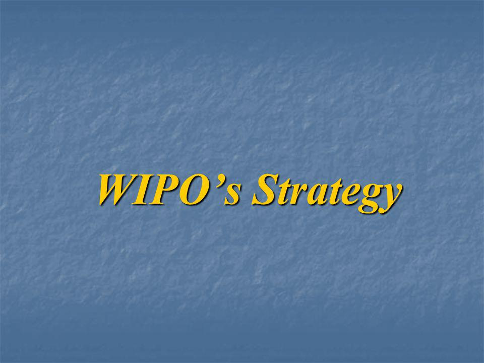 WIPO's Strategy