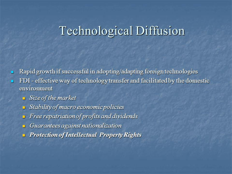 Technological Diffusion