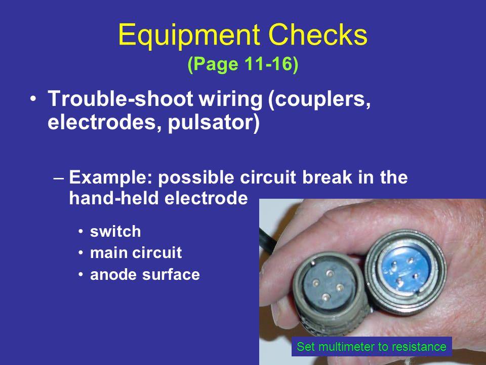 Equipment Checks (Page 11-16)