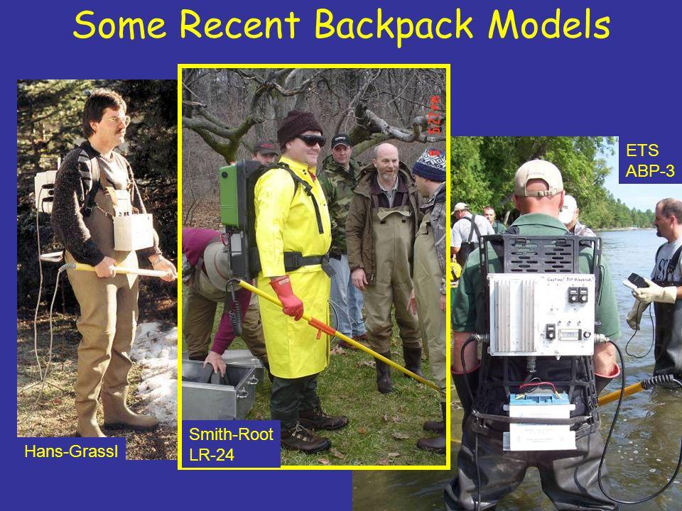 Some Recent Backpack Models
