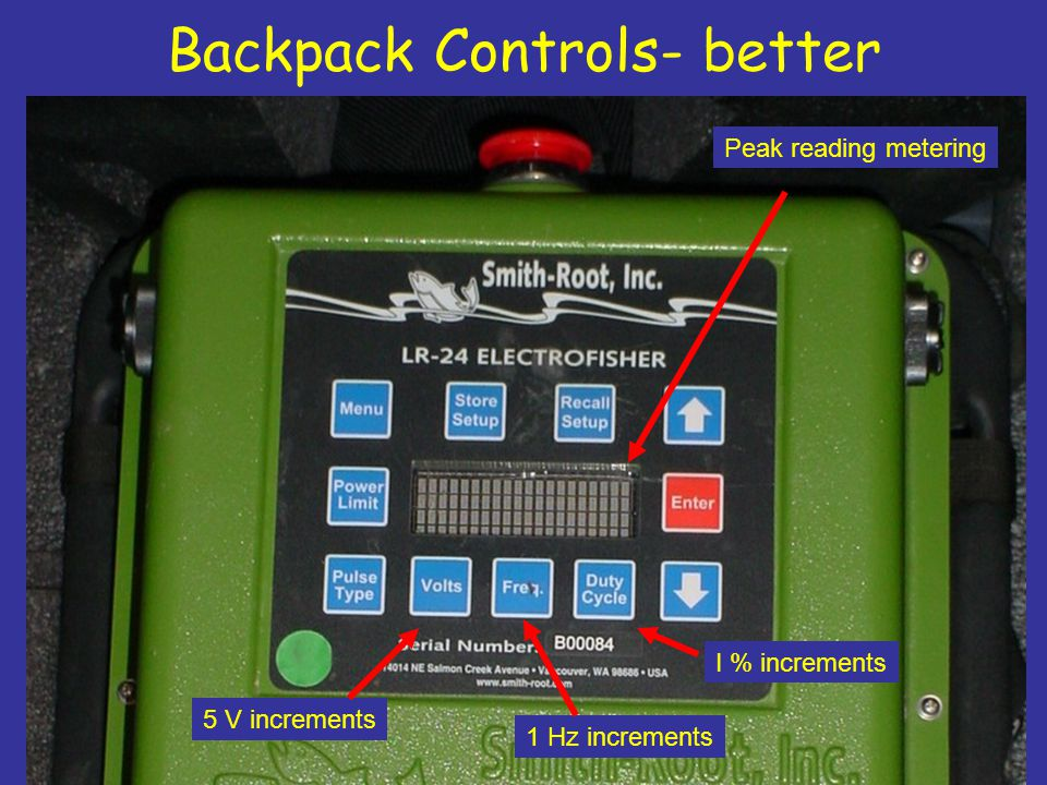 Backpack Controls- better