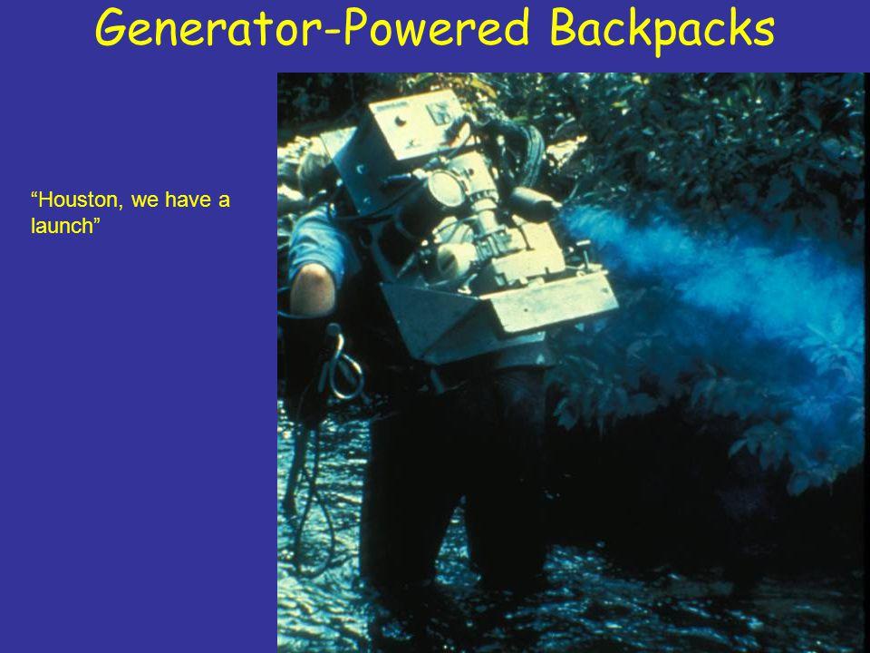 Generator-Powered Backpacks