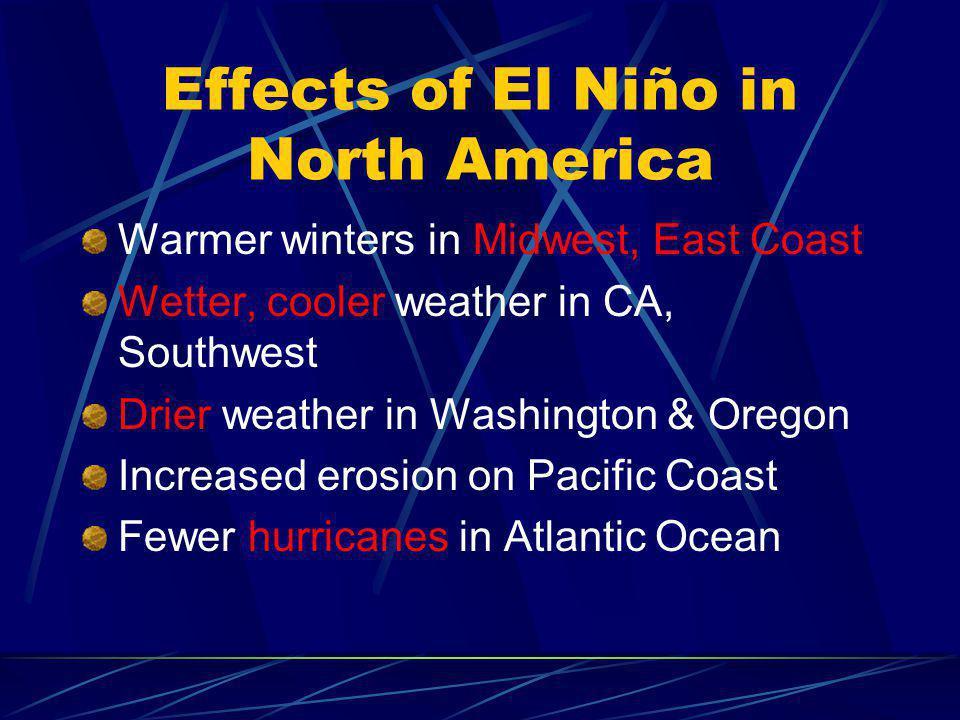 Effects of El Niño in North America