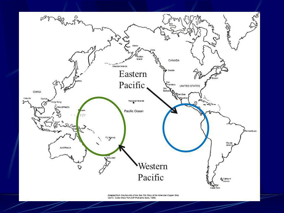 Eastern Pacific Western Pacific