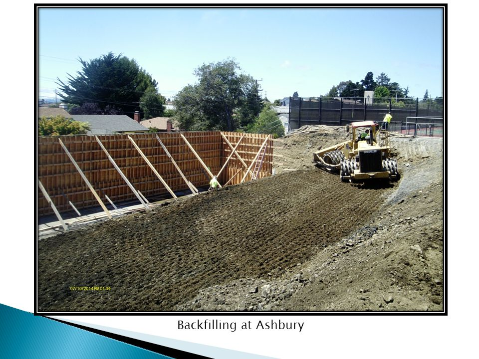 Backfilling at Ashbury