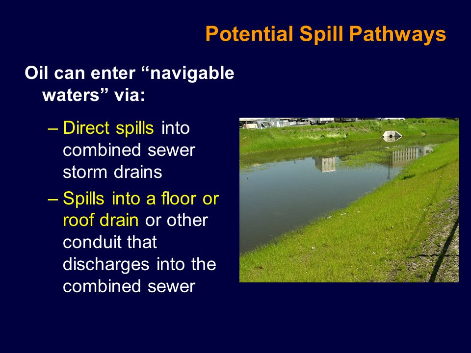 Potential Spill Pathways