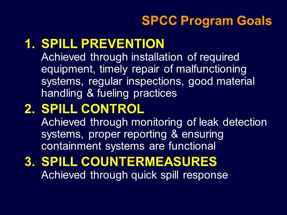 SPCC Program Goals