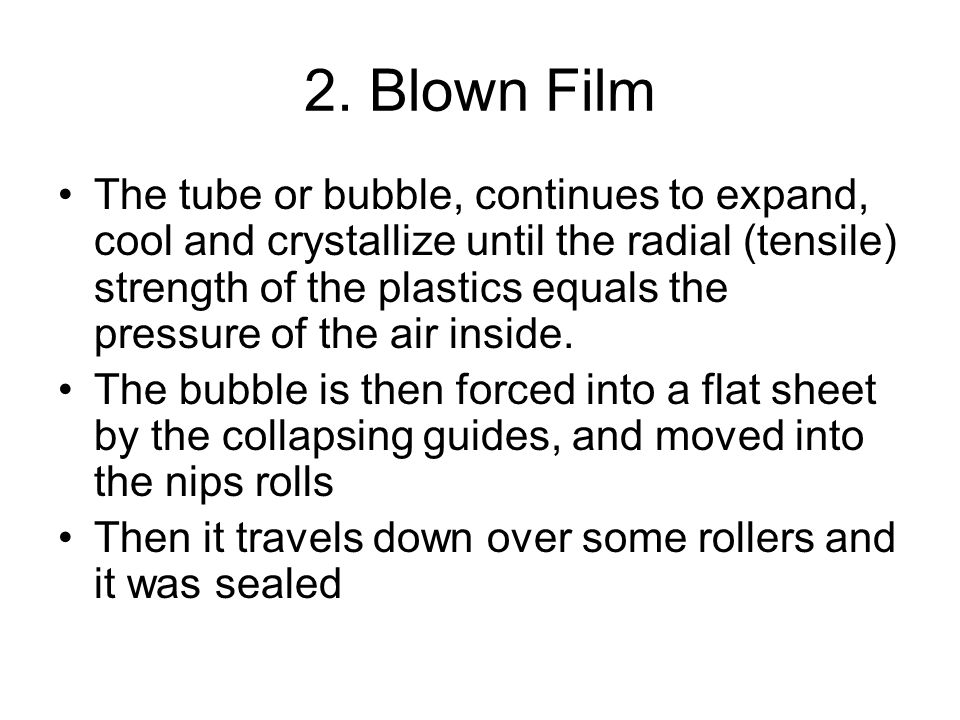 2. Blown Film