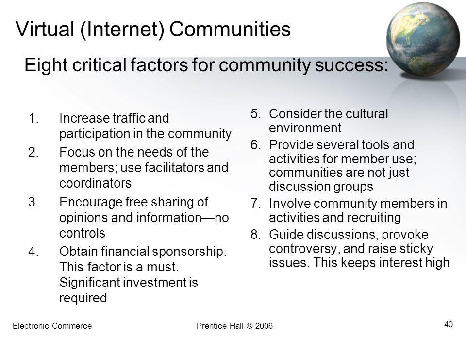 Virtual (Internet) Communities