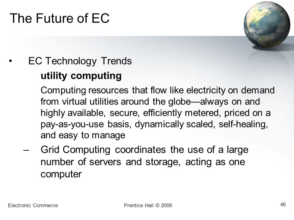 The Future of EC EC Technology Trends