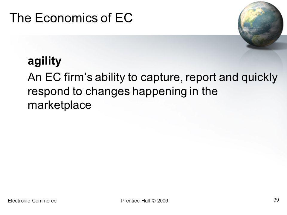The Economics of EC agility