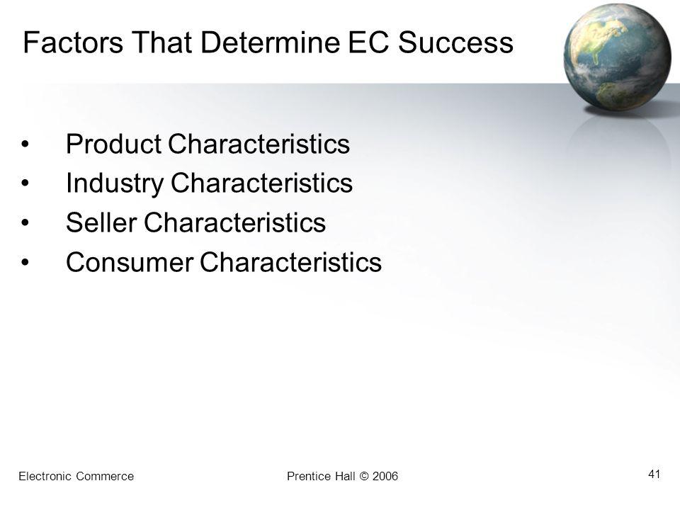 Factors That Determine EC Success