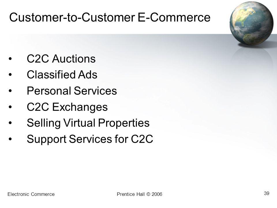 Customer-to-Customer E-Commerce