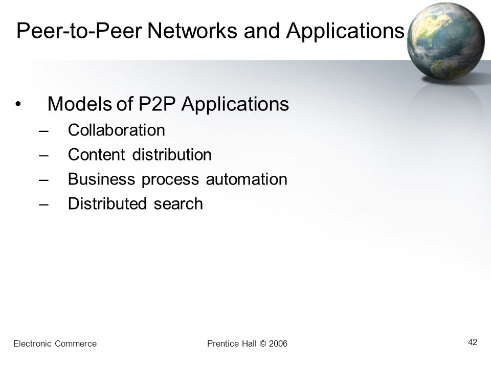 Peer-to-Peer Networks and Applications