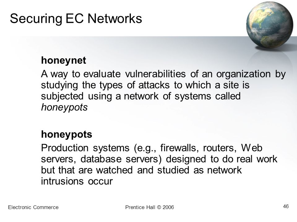 Securing EC Networks honeynet