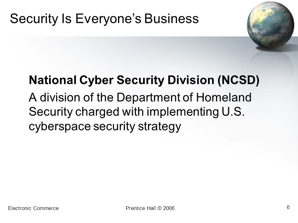 Security Is Everyone's Business