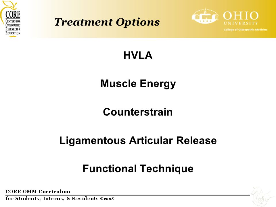 Ligamentous Articular Release