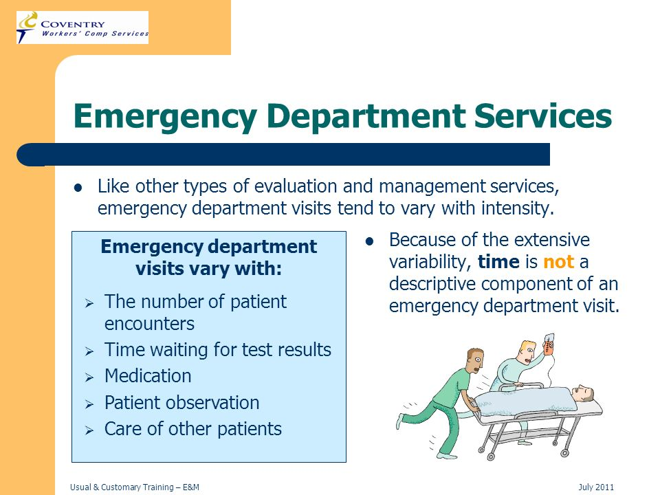 Emergency Department Services
