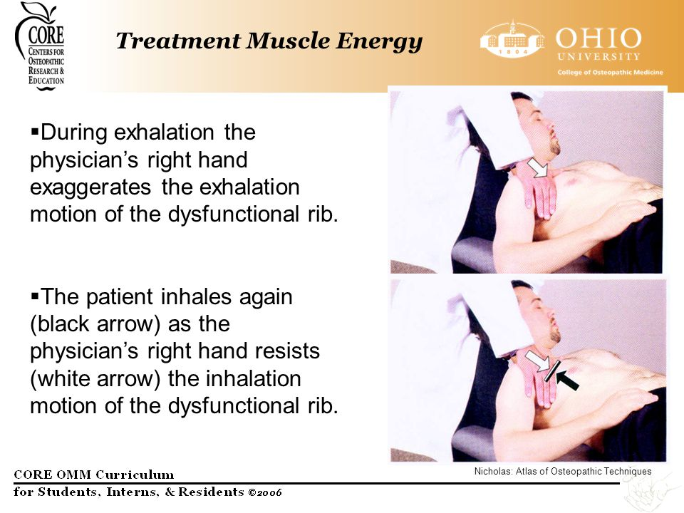 Treatment Muscle Energy