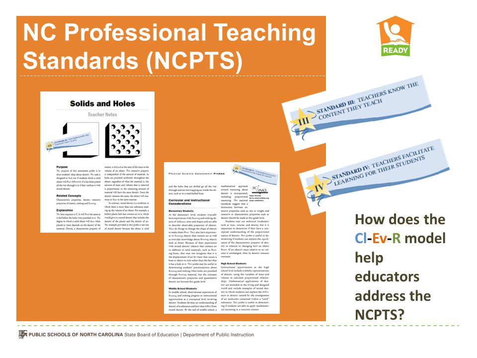 NC Professional Teaching Standards (NCPTS)