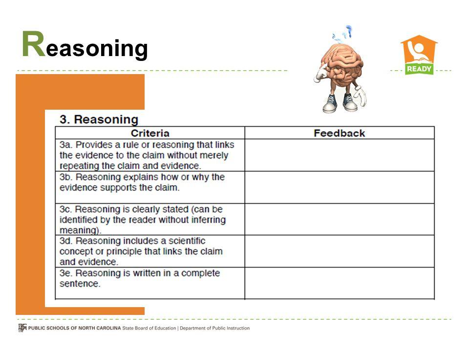 Reasoning Review Cl-Ev-R sheets
