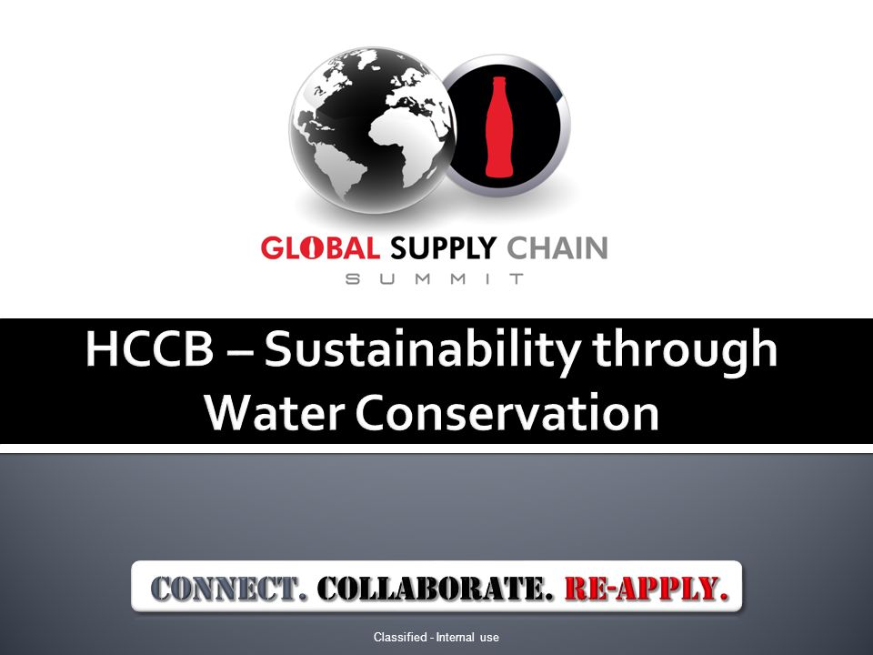 HCCB – Sustainability through Water Conservation