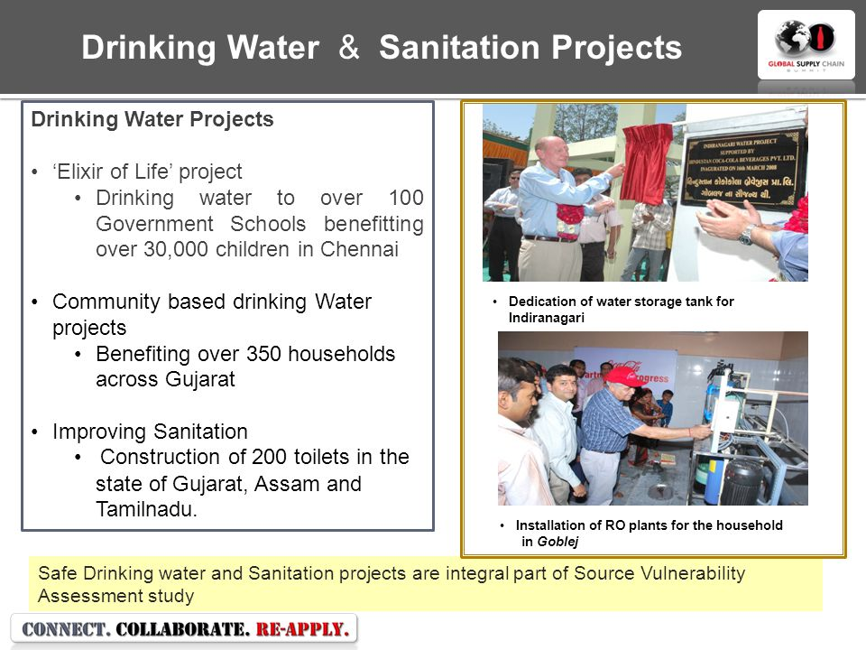 Drinking Water & Sanitation Projects