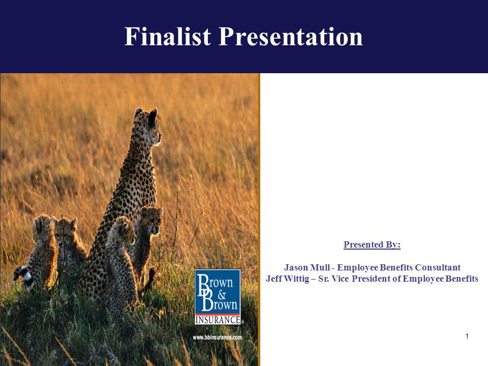 Finalist Presentation